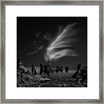 Mono Lake's Tufa Cathedral Framed Print
