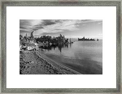 Mono Towers Framed Print by Jim Snyder