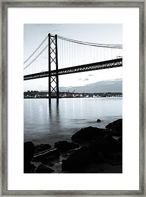 Monochromatic Morning II Framed Print by Marco Oliveira