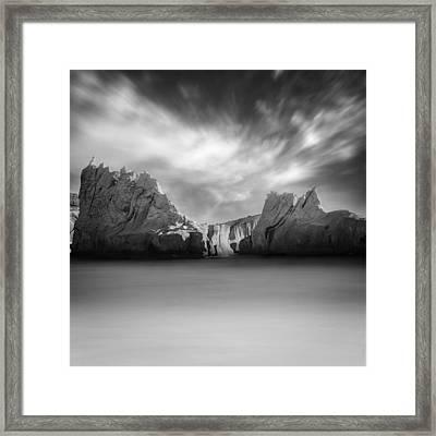 Monochrome Days Framed Print by Taylan Apukovska