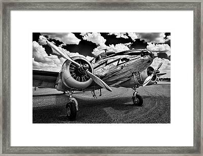 Monochrome Electra Framed Print