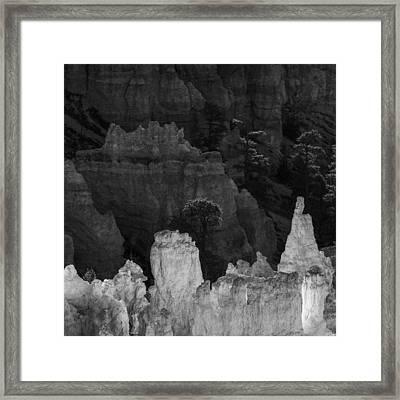 Monochrome Morning Framed Print by Joseph Smith