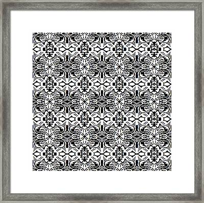 Monochrome New1builder3 Img1 Framed Print