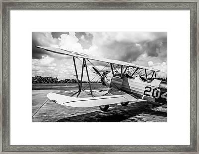 Monochrome Pt17 Framed Print