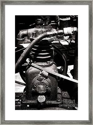 Monocylinder Framed Print by Olivier Le Queinec