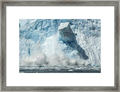 Monolith Framed Print by Ted Raynor