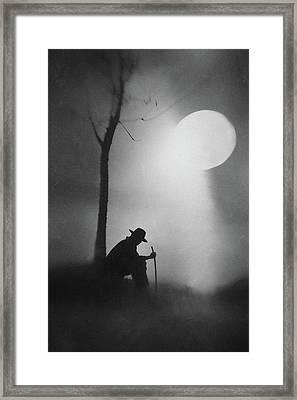Monologue Framed Print