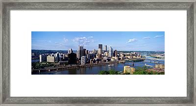 Monongahela River, Pittsburgh Framed Print