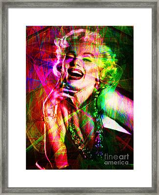 Monroe 20130618so Framed Print by Wingsdomain Art and Photography