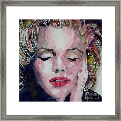 Monroe No 6 Framed Print by Paul Lovering