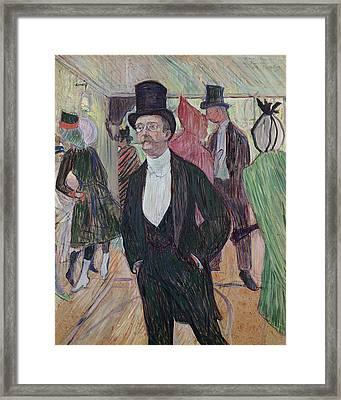 Monsieur Fourcade Framed Print