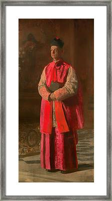 Monsignor James Turner Framed Print by Mountain Dreams