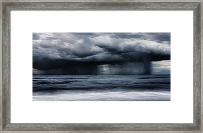 Monsoon Framed Print