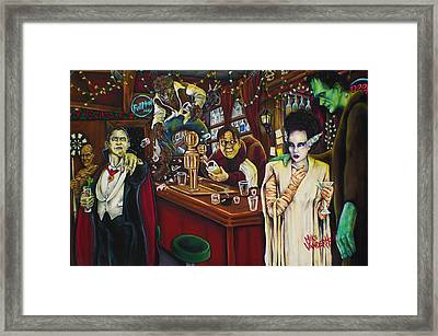 Monster Bar By Mike Vanderhoof Framed Print by Mike Vanderhoof