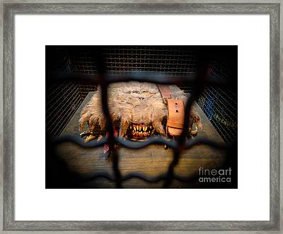 Monster Book Of Monsters By Edwardus Lima Framed Print by Edward Fielding