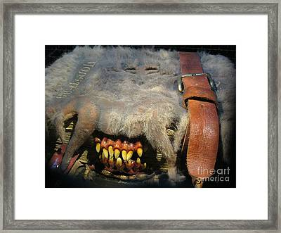 Monster Book Of Monsters Framed Print