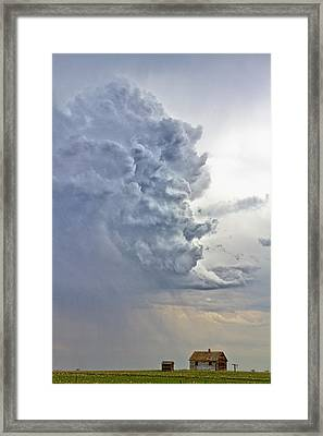 Monster Cloud Country Framed Print by James BO  Insogna
