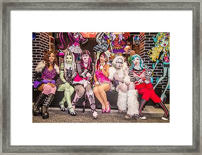 Monster Girls  Framed Print by Andreas Schneider