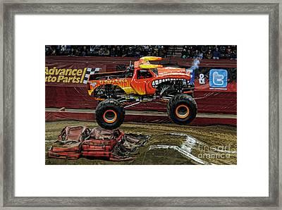 Monster Truck - El Toro Loco Framed Print by Paul Ward