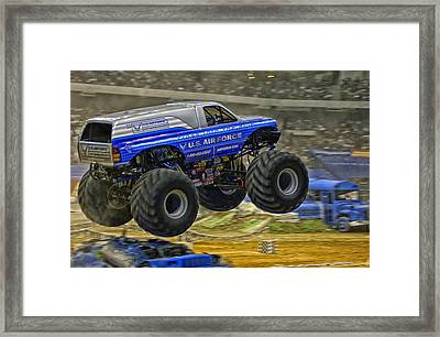 Monster Truck Framed Print by Mountain Dreams