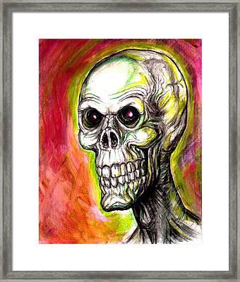 Monsterstar Framed Print by Jack Joya