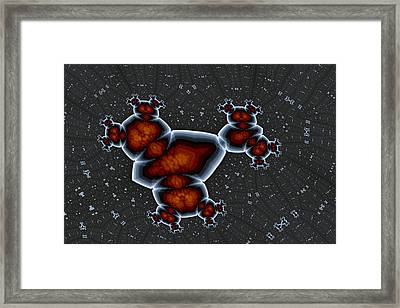 Monstrous 5 Framed Print by Mark Eggleston