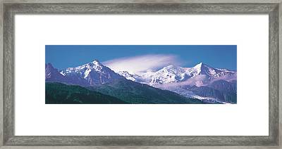 Mont Blanc France Framed Print by Panoramic Images