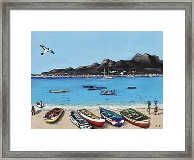 Mont Cara Framed Print by Edson Lima
