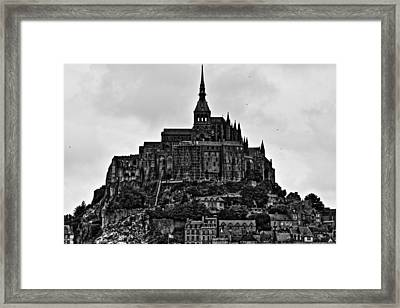 Mont Saint Michel Framed Print by Aidan Moran