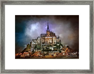 Mont Saint Michel   Framed Print by Andrzej Szczerski