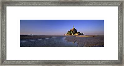 Mont Saint Michel, Normandy, France Framed Print by Panoramic Images