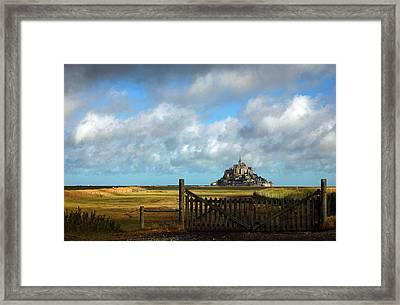 Mont Saint-michel Framed Print by RicardMN Photography