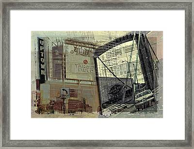 Montage Of Minneapolis Framed Print by Susan Stone