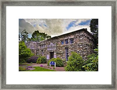 Montague Building At Mars Hill College Framed Print