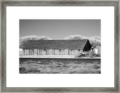 Montana Building Framed Print
