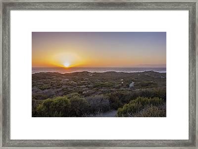 Montana De Oro State Park Framed Print by Jeremy Jensen