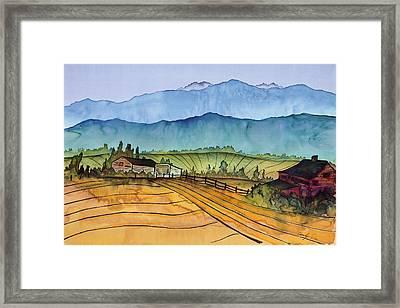 Montana Dreams Framed Print