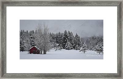 Montana Morning Framed Print