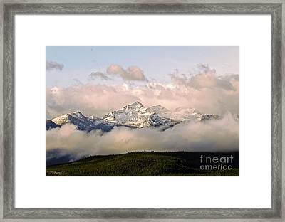 Montana Mountain Framed Print