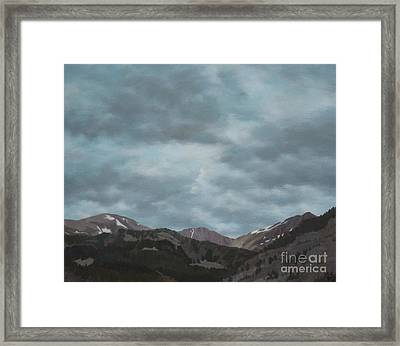 Montana Near Choteau Framed Print