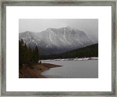 Montana Winter Framed Print by Yvette Pichette