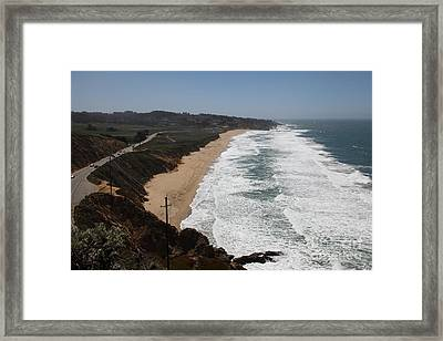 Montara State Beach Pacific Coast Highway California 5d22621 Framed Print
