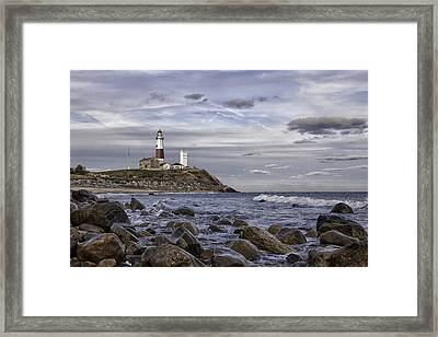 Montauk Afternoon Framed Print by Sara Hudock