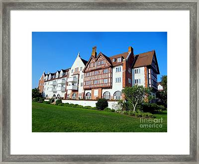 Montauk Manor Framed Print