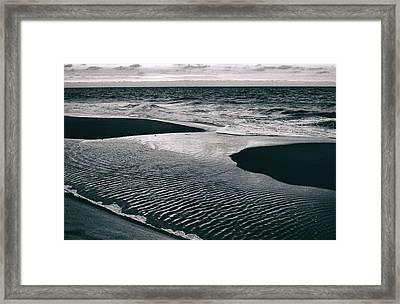 Montauk Patterns Framed Print