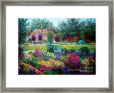 Montclair English Garden Framed Print