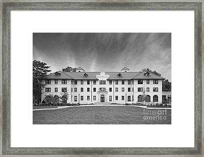 Montclair State University Edward Russ Hall Framed Print