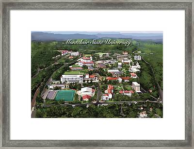 Montclair State University Framed Print by Rhett and Sherry  Erb