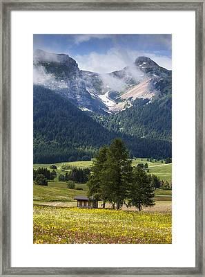 Monte Bondone Framed Print