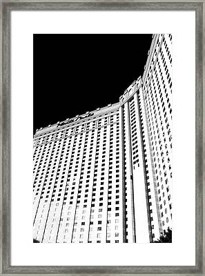 Monte Carlo Angles Framed Print by John Rizzuto